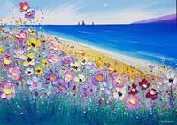 The Beach & Meadow Flowers in Love