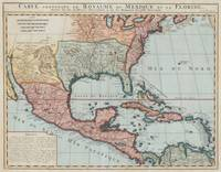 Vintage Map of The Gulf of Mexico (1732)