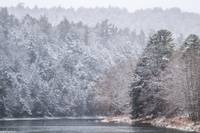 Clarion River Snowstorm