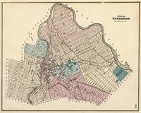 Vintage Map of Paterson New Jersey (1872)