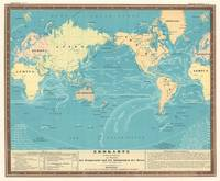 Vintage Map of The World (1845)