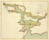 Vintage Map of Cork Harbor Ireland (1702)