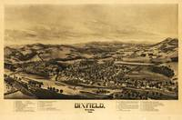 Aerial View of Dixfield, Maine (1896)