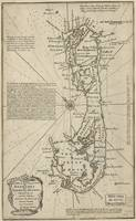 Vintage Map of Bermuda (1752)