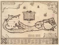 Vintage Map of Bermuda (1626)