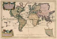 Vintage Map of The World (1714)