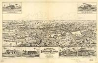 Vintage Pictorial Map of Longwood Florida (1885)