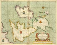 Vintage Map of The British Isles (1707)