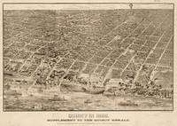 Vintage Map of Quincy MA (1888)