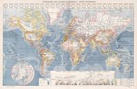 Vintage Map of The World (1900)