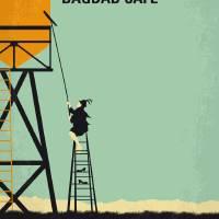 """""""No964 My Bagdad Cafe minimal movie poster"""" by Chungkong"""