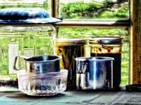 Canning Jars and Flour Sifters