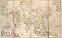 Vintage Map of Asia (1736)