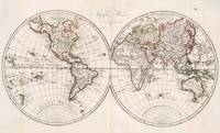 Vintage Map of The World (1804)