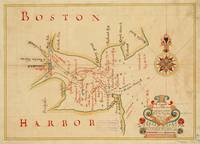 Vintage Map of Boston Harbor (1694)