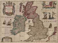 Vintage Map of The British Isles (1617)