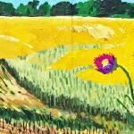 wheatfield220120710ik by Michael Anderson