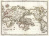 Vintage Map of The World (1832)