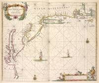 Vintage Map of New Netherland (1672)