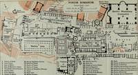 Vintage Map of The Roman Forum (1911)