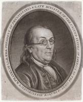 Vintage Portrait of Ben Franklin (1787)