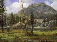 ALBERT BIERSTADT, SIERRA NEVADA MOUNTAINS