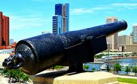 Cannon at Federal Hill, Baltimore, Maryland