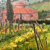 Florence countryside Art Prints & Posters by MaryAnne Ardito