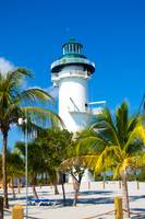 Lighthouse on Harvest Caye