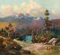 CHARLES PARTRIDGE ADAMS (1858-1942) Rocky Mountain