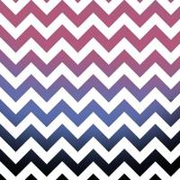 pink blue black ombre chevron