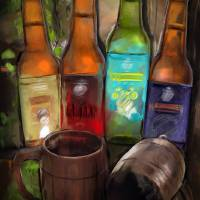 BEERS Art Prints & Posters by Melanie D