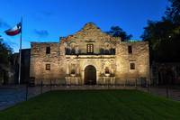 Texas Alamo at Twilight