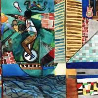 Baltimore's Inner Harbor: Street Performer Art Prints & Posters by David Ralph