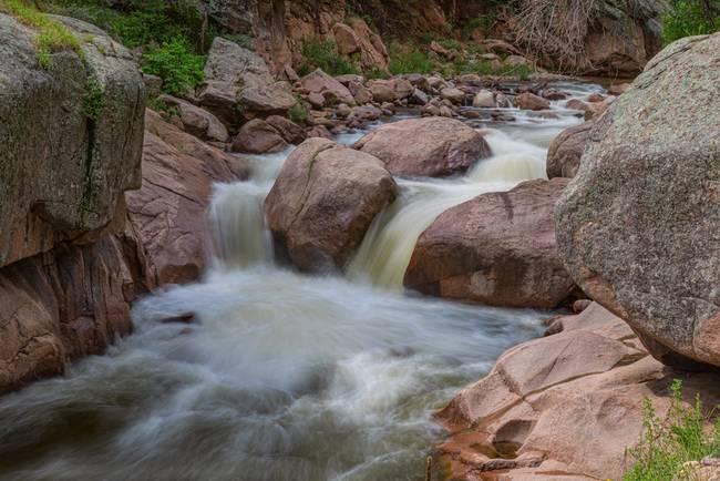 Double Waterfall Splashdown