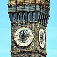 Bromo Seltzer Tower Clock Face, Baltimore, Marylan Art Prints & Posters by Arthur