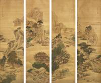 Yuan Yao (Active Mid-18th Century) LANDSCAPES
