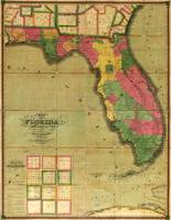 Map of Florida (1829)