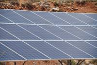 Solar energy station on Tilos