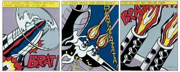 Roy Lichtenstein - As I Opened Fire