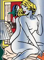 Blue Nude - Roy Lichtenstein