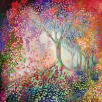 Tree of Celebration Art Prints & Posters by Jennifer Lommers