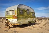 Abandoned Trailer in Sonora Desert