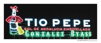 Tio Pepe Billboard Puerta Del Sol Madrid Spain By