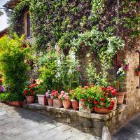 Tuscan Dream Cottage Art Prints & Posters by George Oze