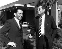 Frank Sinatra and President Kennedy