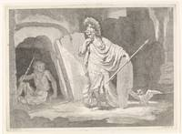 Minerva enters Diet in a cell, Johannes Glauber, a