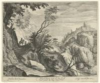 Mountainous landscape, Magdalena of the Passe, aft