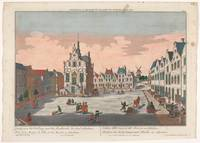 View of the Town Hall on the Grote Markt in Schied