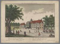View of Huis ten Bosch Palace with the Oranjezaal